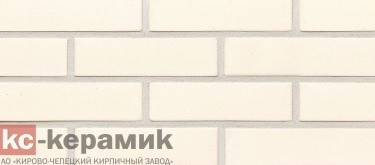 Белый / алебастрово-белый шов