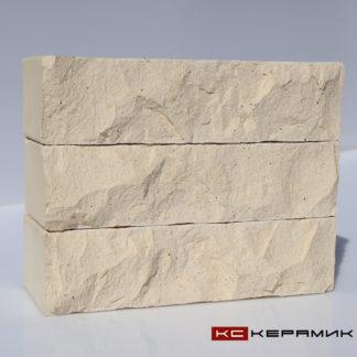кирпич Горный камень Белый КС-Керамик